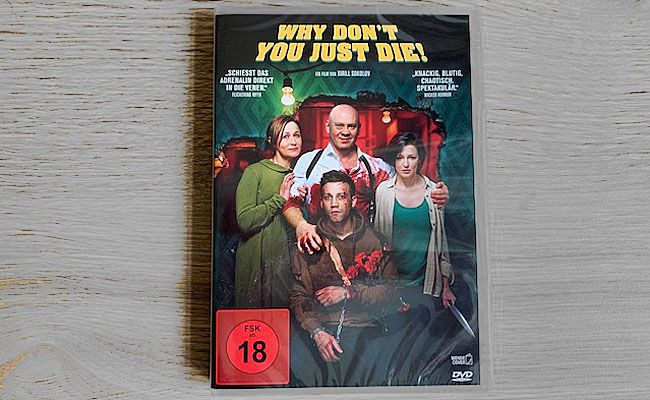 "Verlosung: Gewinnt ""Why Don't You Just Die!"" auf DVD"