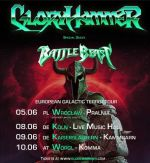 GLORYHAMMER-Tourplakat 2020