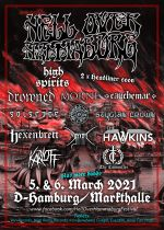 HELL OVER HAMMABURG 2021 - 5 neue Bands im Billing