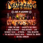 "DESTRUCTION enthüllen Tracklist für ""Born To Thrash - Live In Germany"""