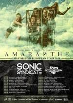 AMARANTHE auf Deutschlandtour mit SONIC SYNDICATE und SMASH INTO PIECES
