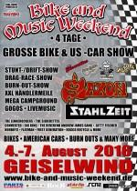 Bike and Music Weekend 2016 mit SAXON