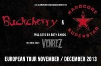 Buckcherry und Hardcore Superstar - Hamburg / Fabrik