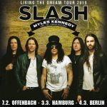 SLASH ft. MYLES KENNEDY & The Conspirators kündigen Europatournee an