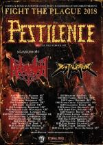 "PESTILENCE auf ""Fight the Plague""-Tour"