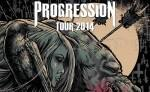 Progression Tour 2014 mit Caliban, The Ghost Inside, The Devil Wears Prada, I Killed The Prom Queen & Breakdown Of Sanity