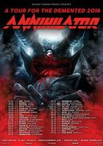 "ANNIHILATOR kündigen ""A Tour For The Demented"" an"