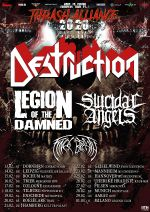 "DESTRUCTION gehen auf ""Thrash Alliance Tour"""