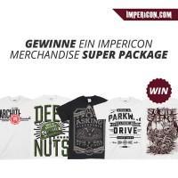 Gewinnt 4 exklusive Impericon Merchandise Packs!
