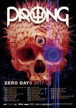 "Prong ""Zero Days"" Tourplakat"
