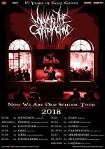 "MILKING THE GOATMACHINE auf ""Now We Are Old School""-Tour 2018"