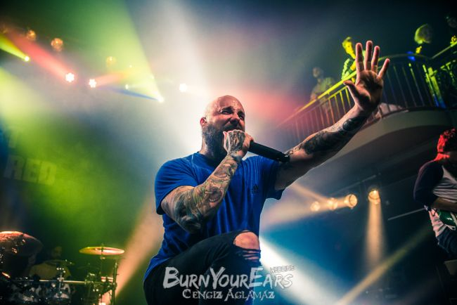 August Burns Red - Bilder von der Show mit Erra und Currents