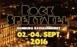 Auch das Rockspektakel 2016 findet auf dem Hamburger Rathausmarkt statt