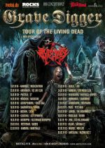 "GRAVE DIGGER veröffentlichen Video zu ""The Power Of Metal"", Tour 2019"