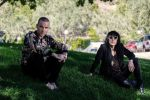 Robbie Williams mit The Struts Frontmann Luke Spiller